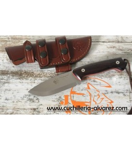 Cuchillo J&V AXARQUIA 1095 cocobolo