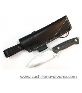 Cuchillo J&V CELTIBRO BUSHCRAFT micarta negra