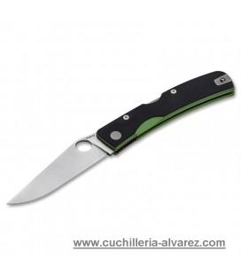 Navaja Manly PEAK green/toxic CPM-S90V 1 mano