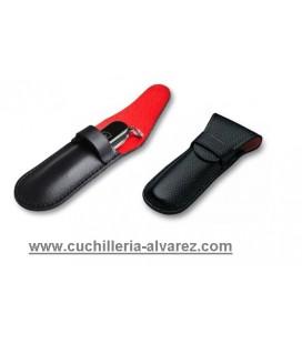 Victorinox FUNDA LAZO DE PIEL negra 4.0636