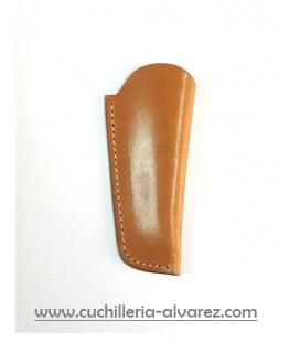 Funda de piel marron2 artesana JOSE CARBALLINO