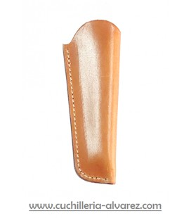 Funda de piel marron3 artesana JOSE CARBALLIDO