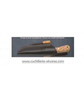 Cuchillo Joker MONTAÑERO madera de abedul CL135