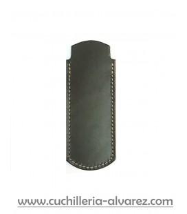 Funda de piel FJC2D MARRON5 artesana JOSE CARBALLIDO doble