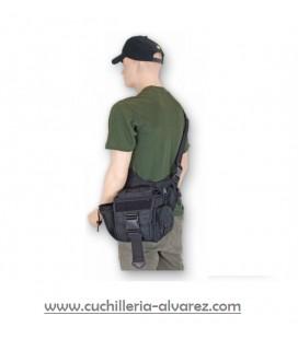 Bandolera BARBARIC FORCE Militar. Negra 34383