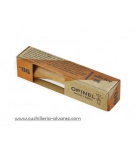 Navaja Opinel Nº6 INOX OLIVO 002020