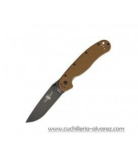 Navaja ONTARIO RAT I Coyote Brown pavonada ON8846CB