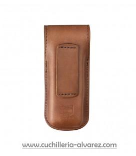 Leatherman Funda de piel marrón TALLA S