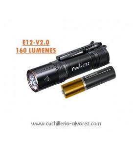 Linternas Fenix E12-V2.0 negra