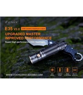 Linternas Fenix E35-V3.0 negra