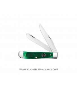Navaja CASE TRAPPER Clover Bone Sawcut Jig CA23210