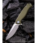 Navaja We Knife Co Streak Linerlock Green G10 818E