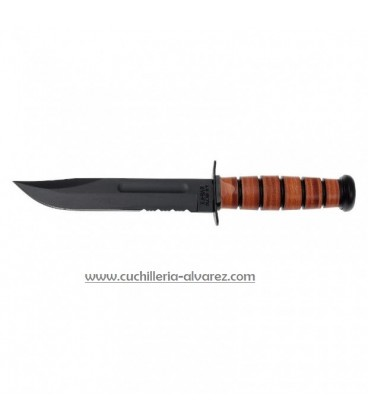 KA-BAR U.S. Army Knife 1219 Serrated