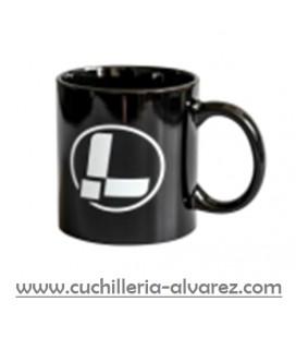 Taza Leatherman logo negra
