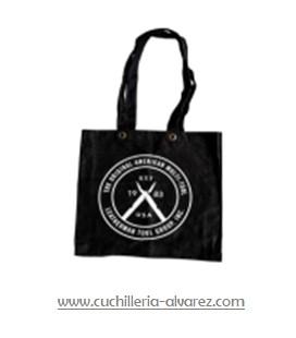Bolsa Leatherman logo negra