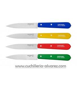 Estuche OPINEL de 4 cuchillos N° 112 colores clásicos