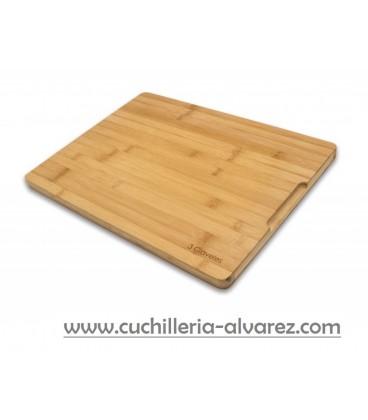 Tabla de corte 3 CLAVELES Bambú 40 x 30 x 2 cm