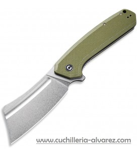 CIVIVI BULLMASTIFF 2006A Flipper OD Green G10