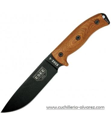Cuchillo ESSE Model 6 micarta natural moldeada ES6PB011