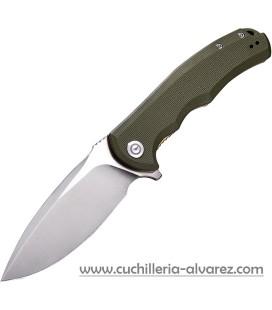 CIVIVI PRAXIS 803A Flipper Knife OD Green G10