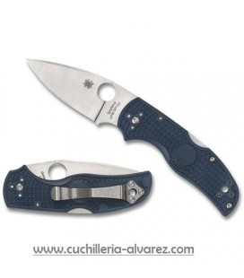 Spyderco NATIVE 5 Lockback Blue C41PCBL5