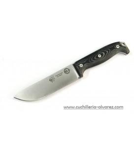 Cuchillo J&V BS9 1095 micarta negra 1601-M1