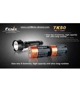 Linternas Fenix TK-50