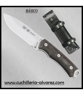 Cuchillo CHAMAN 140-M Mikarta negra