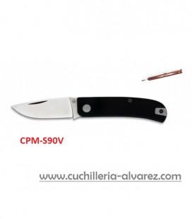 Navaja MANLY WASP negra/roja CPM-S90V
