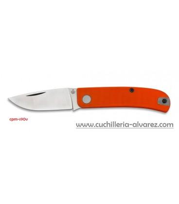 Navaja MANLY WASP orange CPM-S90V