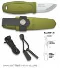 Cuchillo Mora Eldris verde con kit