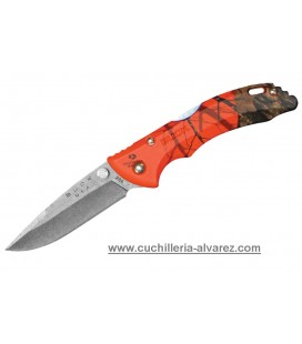Buck Bantam 0284CMS9  Camo Naranja