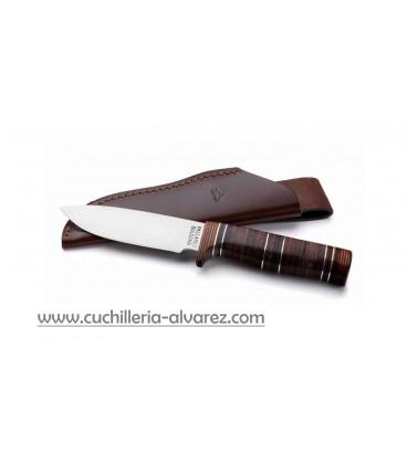Cuchillo PALLARES mango de cuero