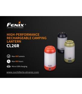 Linterna FENIX  CL-26R  (Verde)Linterna FENIX  CL-26R  (Verde)