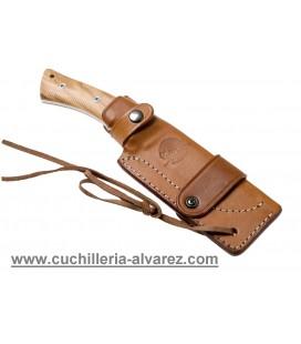 Cuchillo VIPER GIANGHI madera de olivo