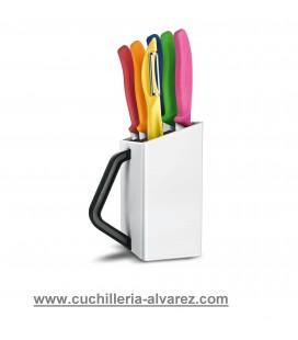 Juego de cuchillos Victorinox  6.7127.6L14