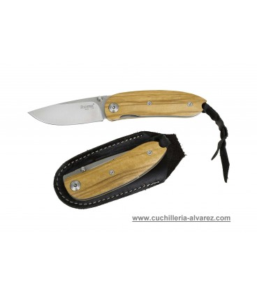 Navaja Lionsteel Mini Olive wood 8210 UL