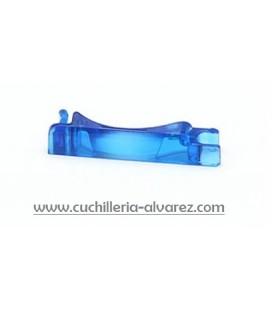 Victorinox tapa de la pila azul transparente