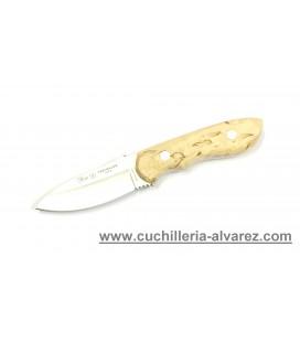 Cuchillo NIETO TRAVELLER Abedul Rizado